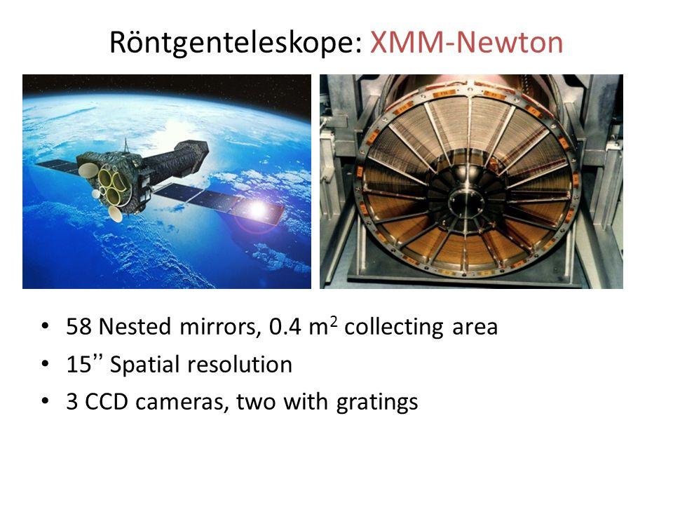 Röntgenteleskope: XMM-Newton