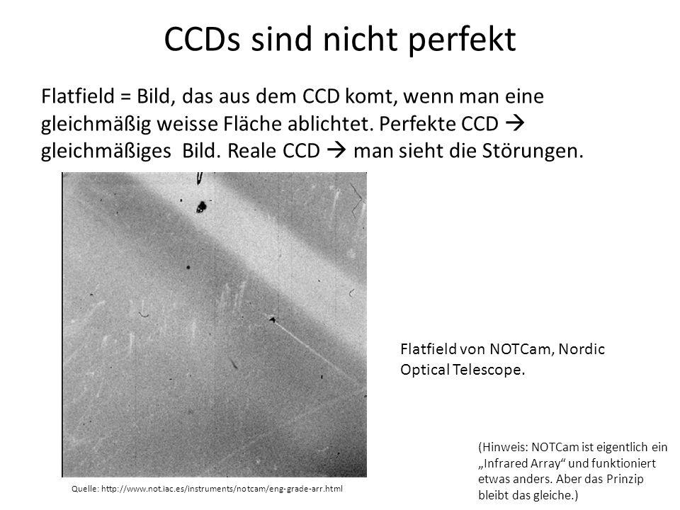 CCDs sind nicht perfekt