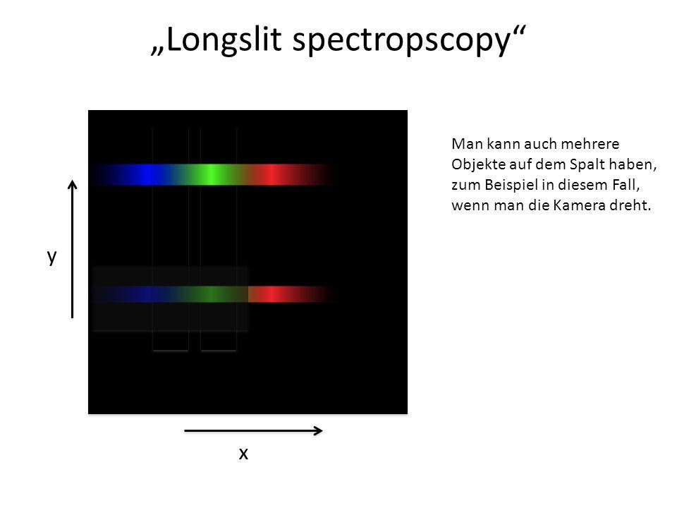 """""""Longslit spectropscopy"""