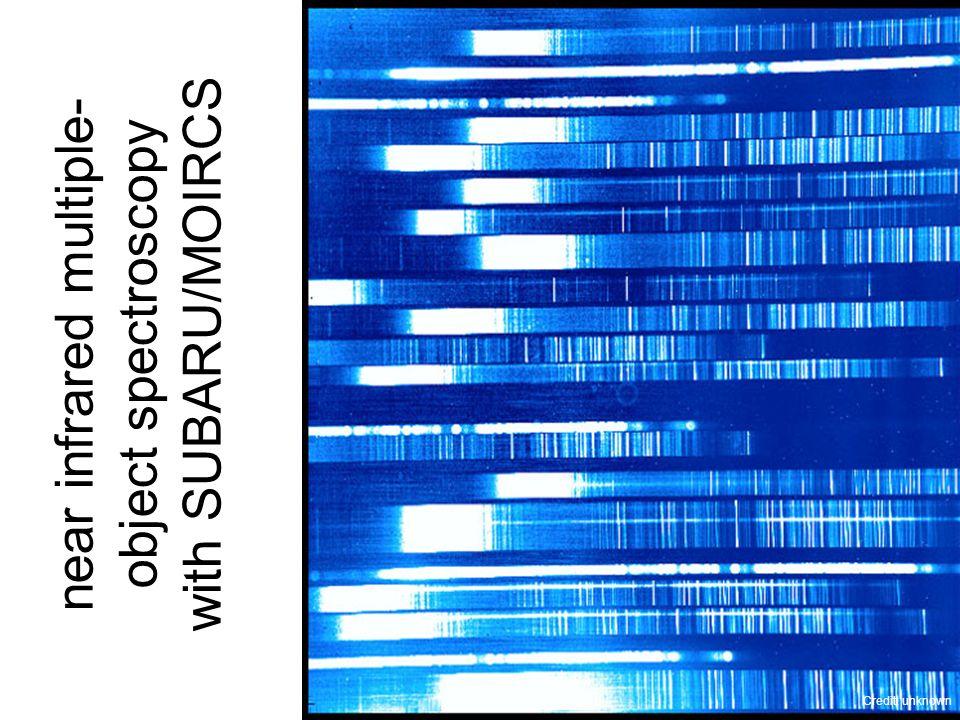 near infrared multiple- object spectroscopy with SUBARU/MOIRCS