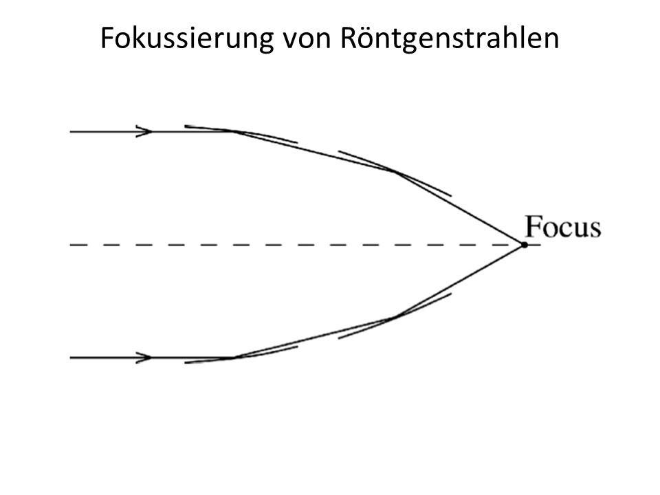 Fokussierung von Röntgenstrahlen