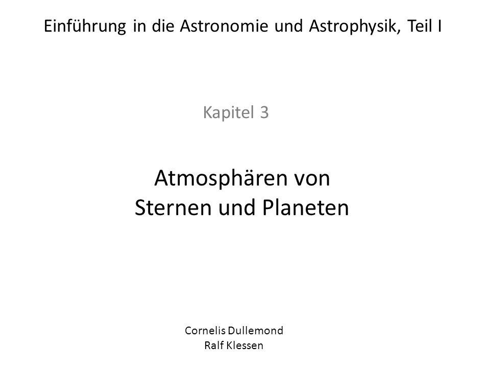 Atmosphären von Sternen und Planeten