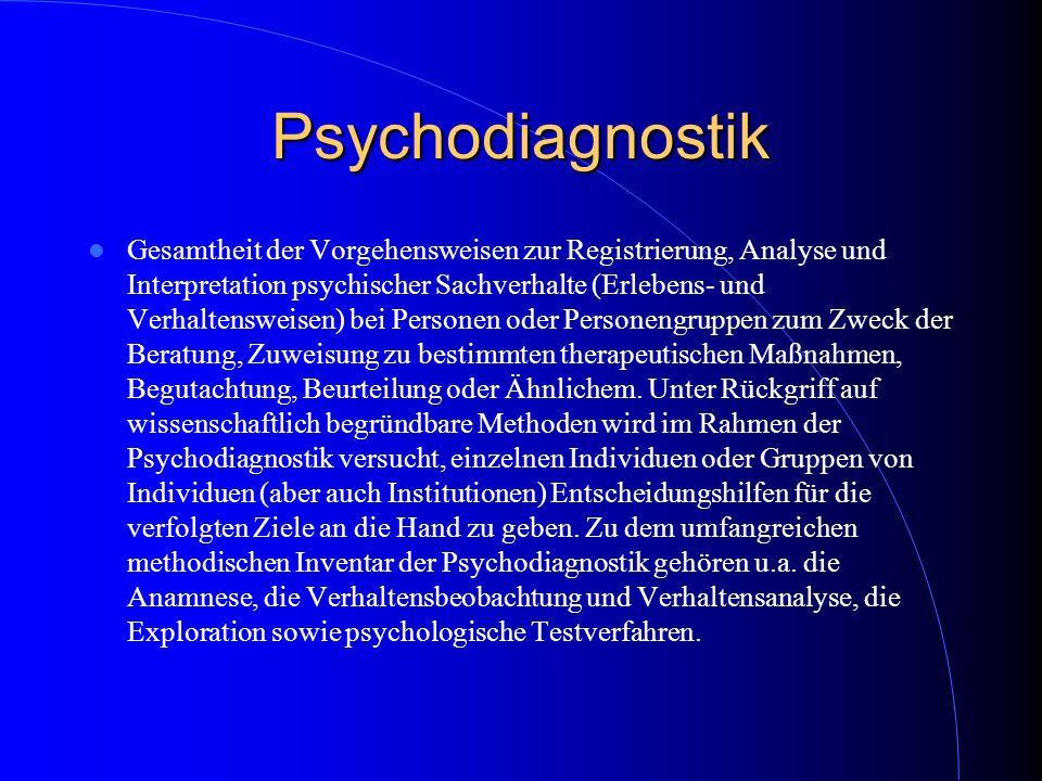 Psychodiagnostik