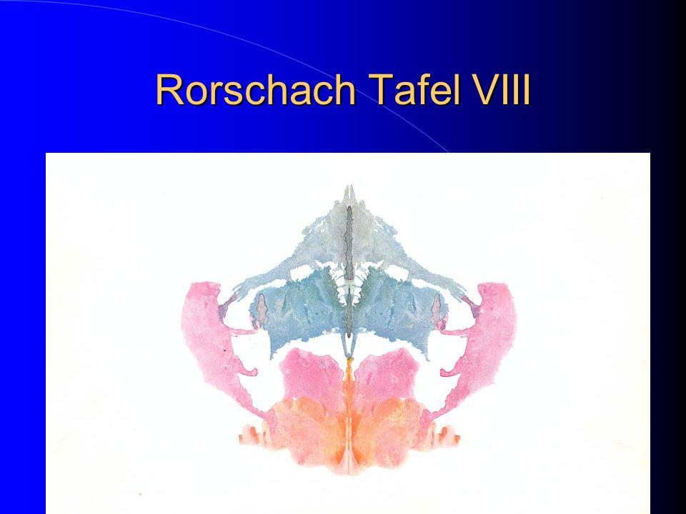 Rorschach Tafel VIII