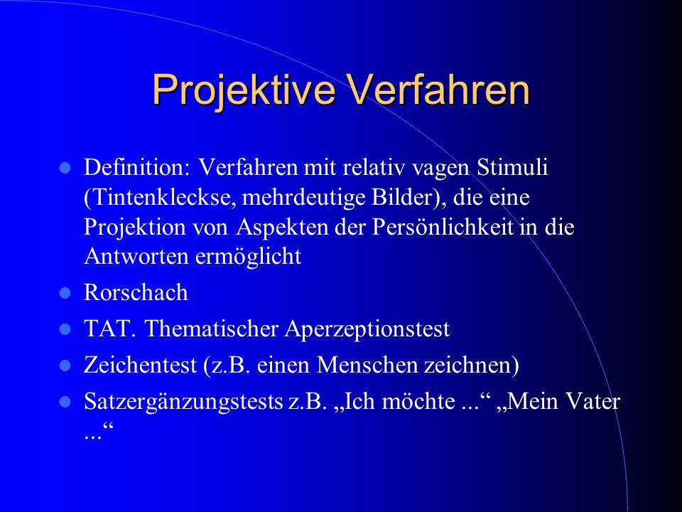 Projektive Verfahren