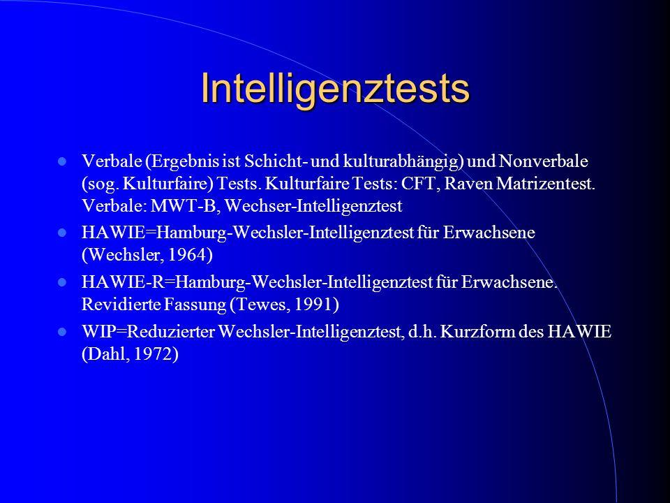 Intelligenztests