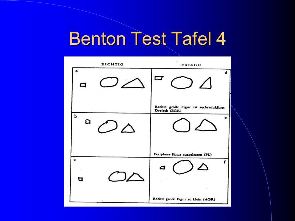 Benton Test Tafel 4