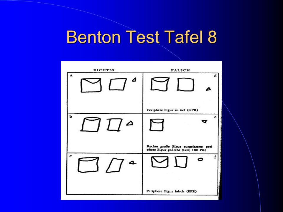 Benton Test Tafel 8