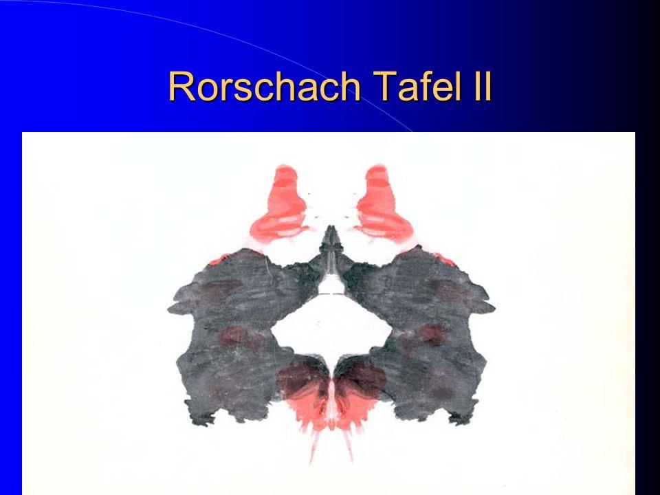 Rorschach Tafel II