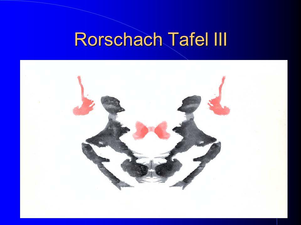 Rorschach Tafel III
