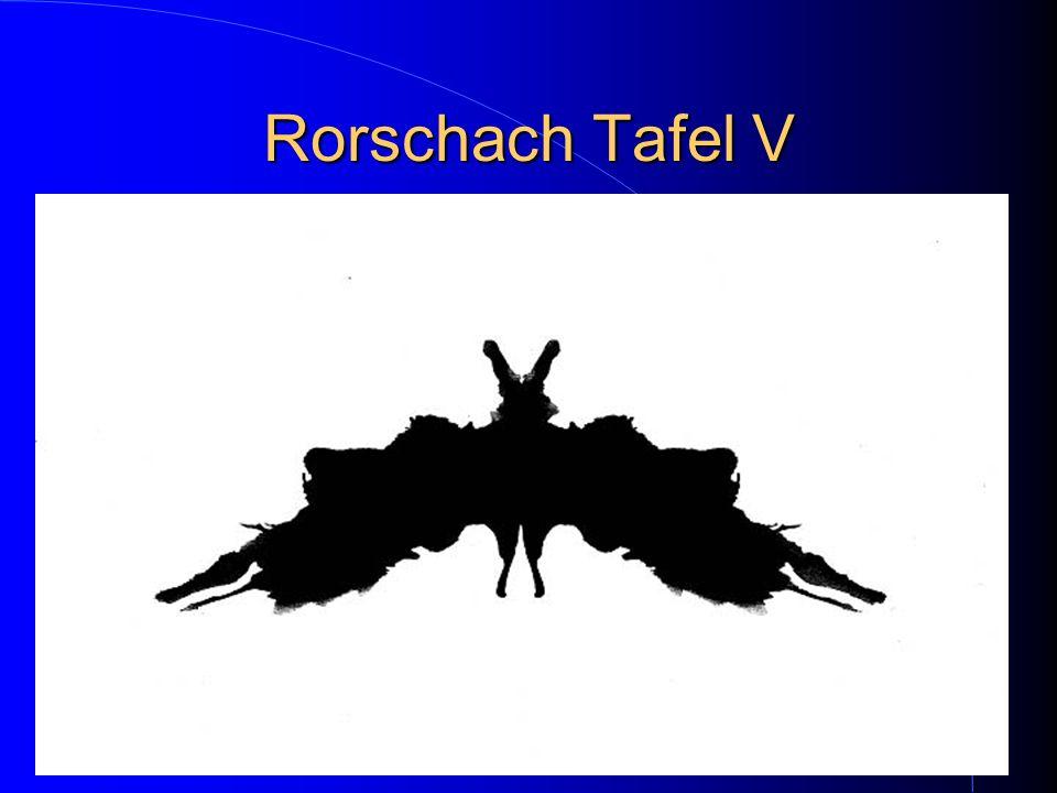 Rorschach Tafel V