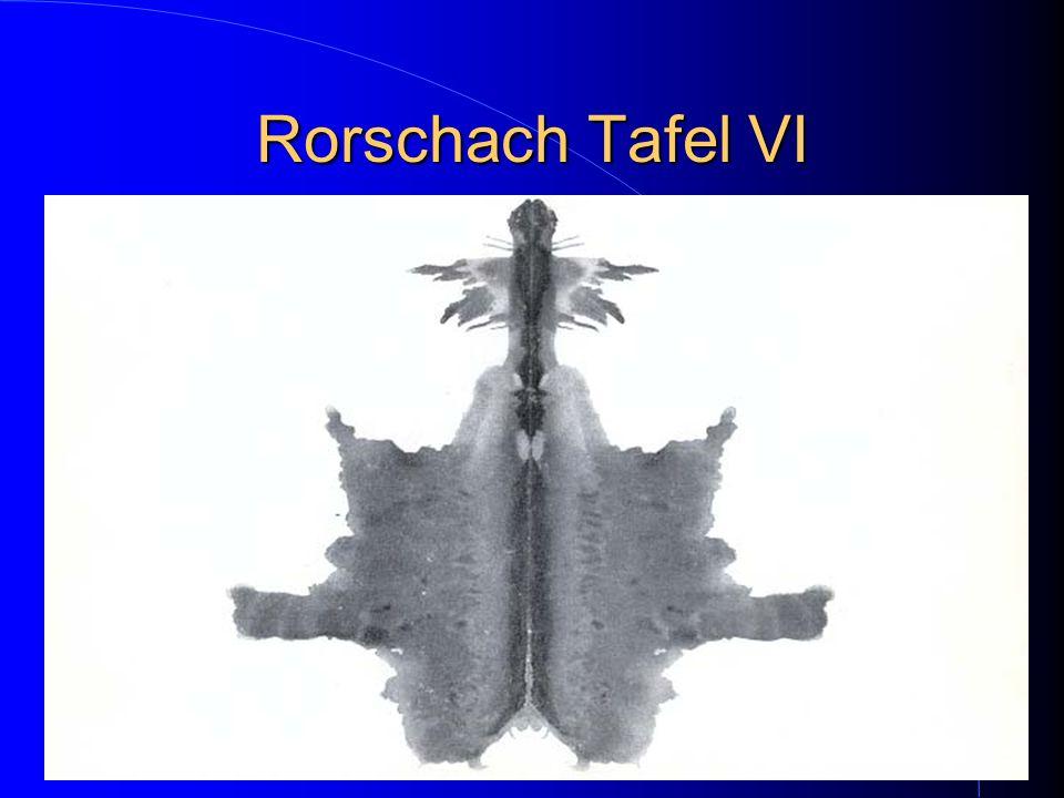 Rorschach Tafel VI