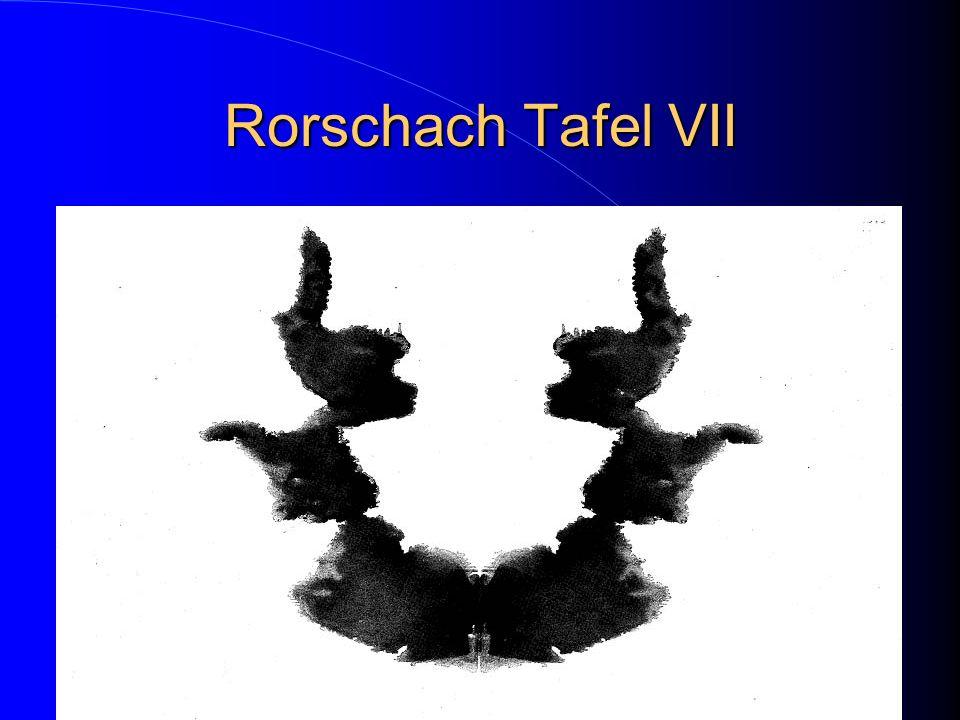 Rorschach Tafel VII