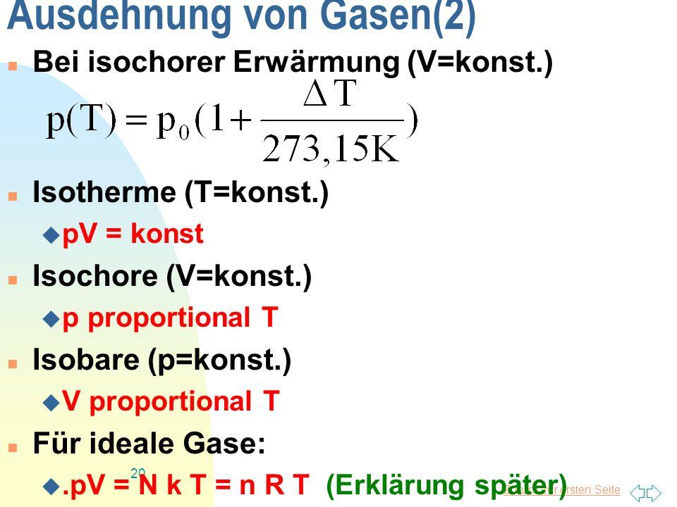 Ausdehnung von Gasen(2)