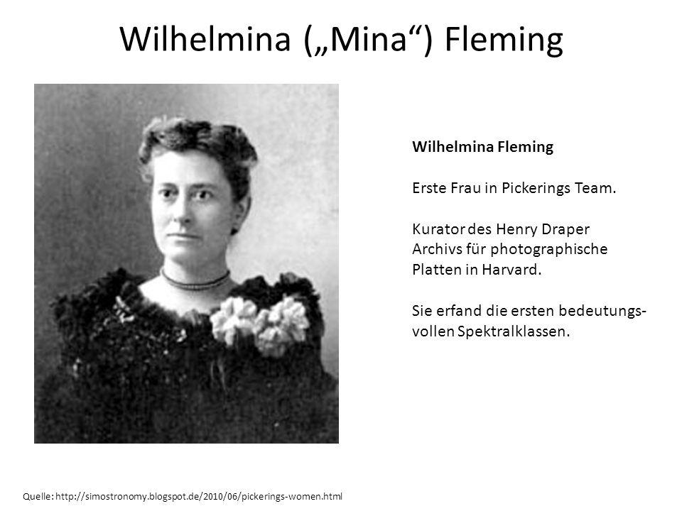 "Wilhelmina (""Mina ) Fleming"