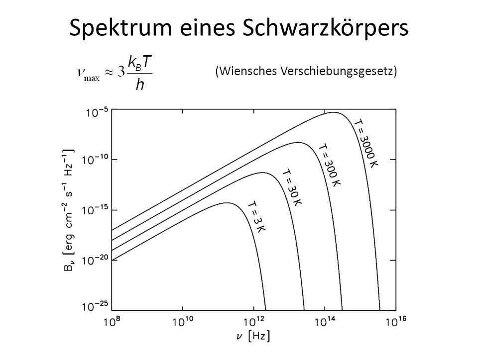 Spektrum eines Schwarzkörpers