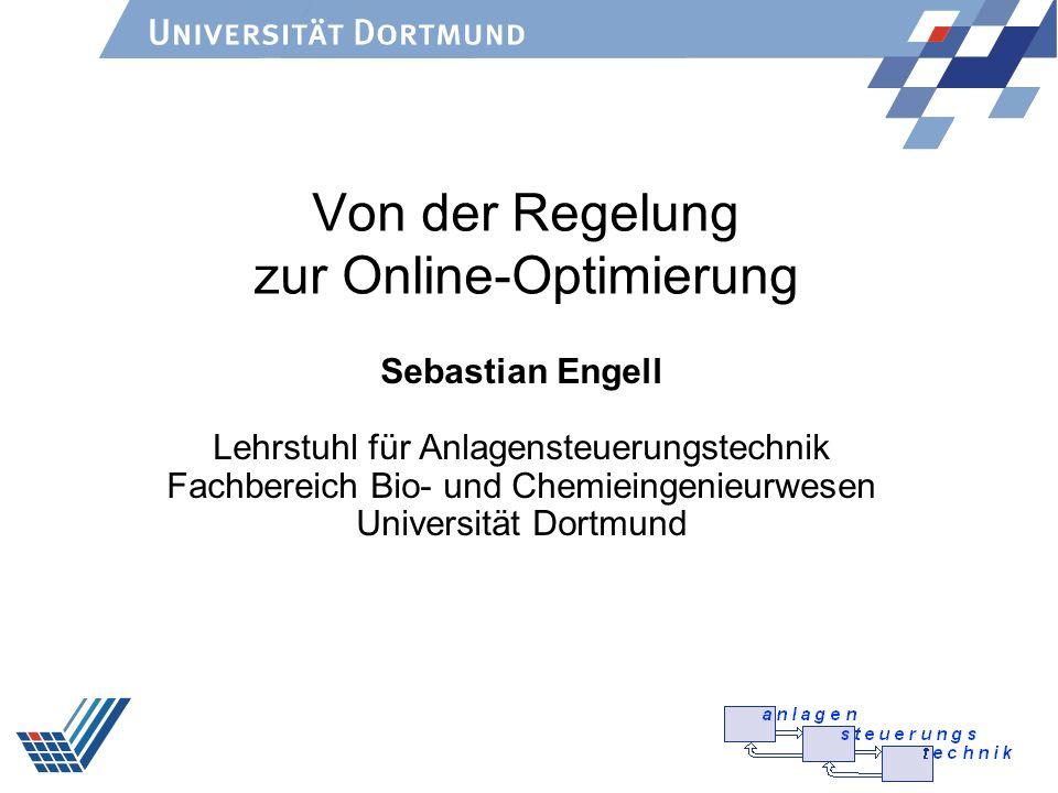 Von der Regelung zur Online-Optimierung