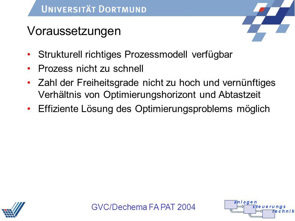 Voraussetzungen Strukturell richtiges Prozessmodell verfügbar