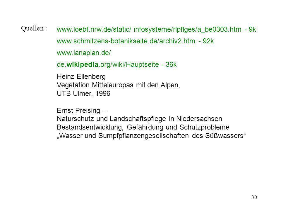 Quellen : www.loebf.nrw.de/static/ infosysteme/rlpflges/a_be0303.htm - 9k. www.schmitzens-botanikseite.de/archiv2.htm - 92k.
