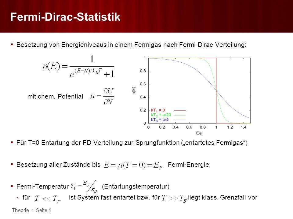 Fermi-Dirac-Statistik