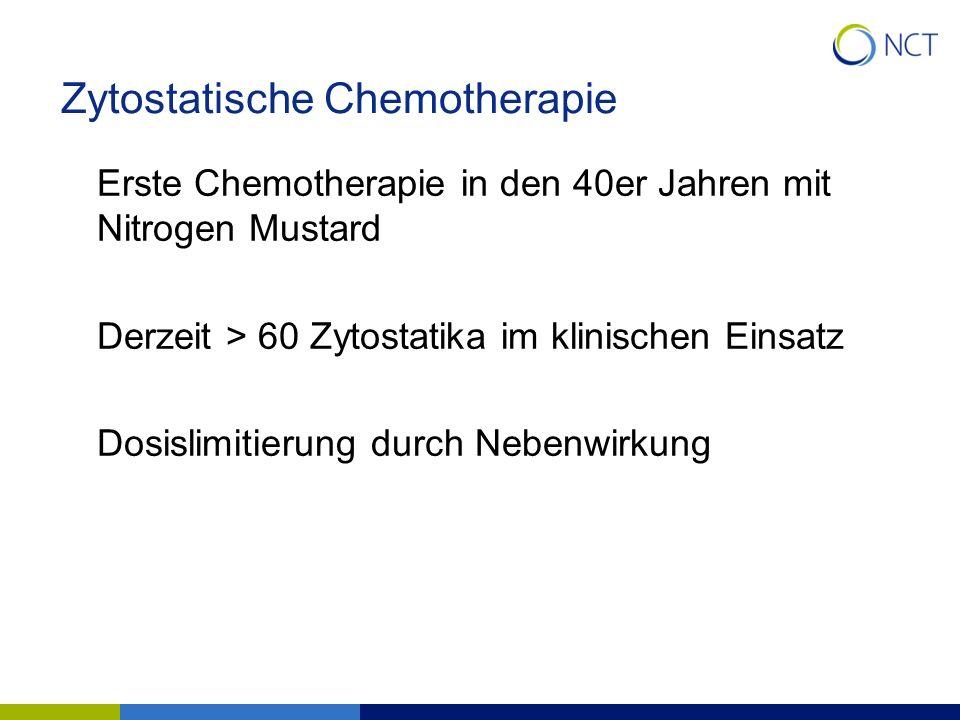 Zytostatische Chemotherapie
