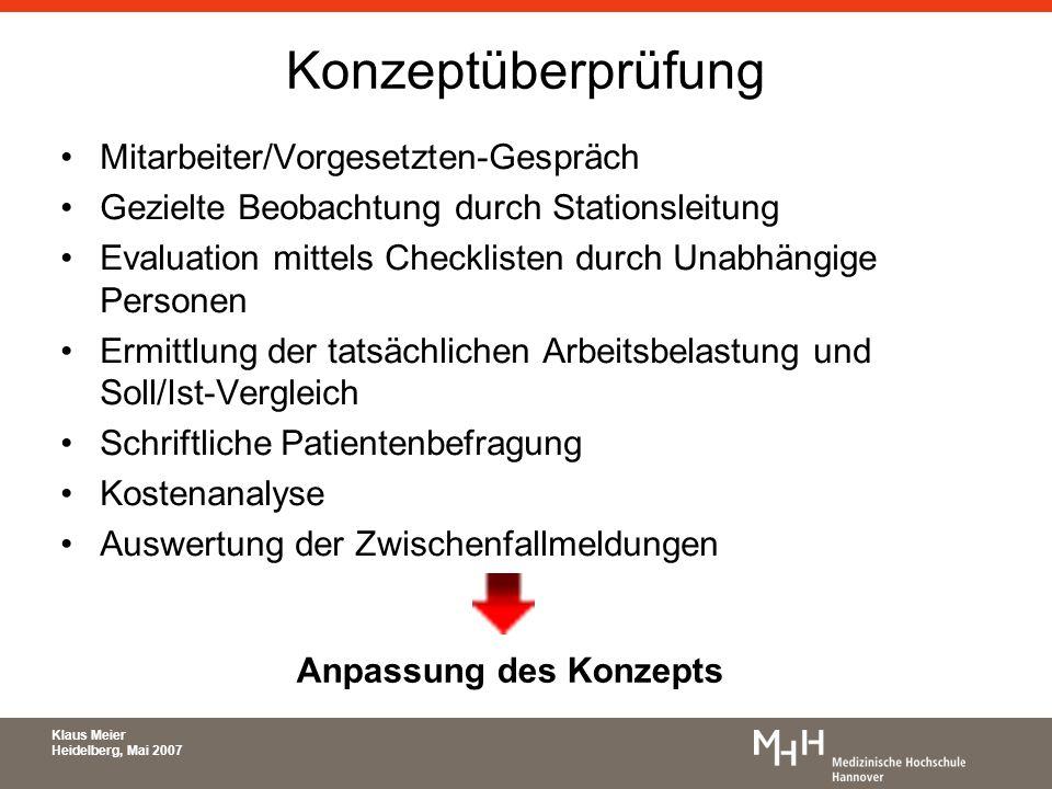 Konzeptüberprüfung Mitarbeiter/Vorgesetzten-Gespräch