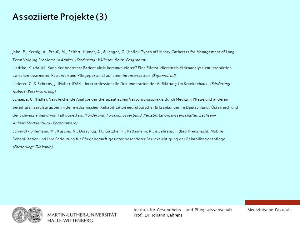 Assoziierte Projekte (3)
