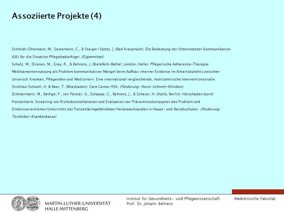 Assoziierte Projekte (4)