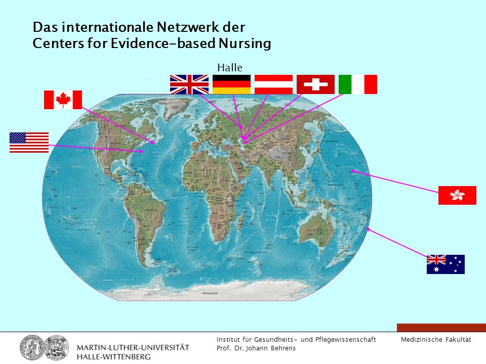 Das internationale Netzwerk der Centers for Evidence-based Nursing
