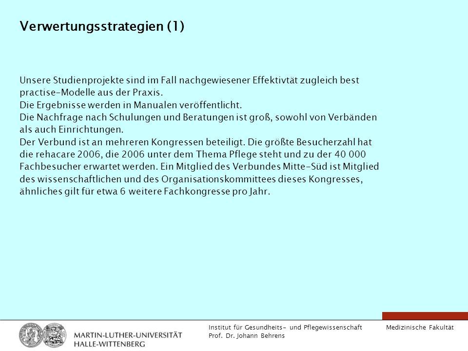 Verwertungsstrategien (1)