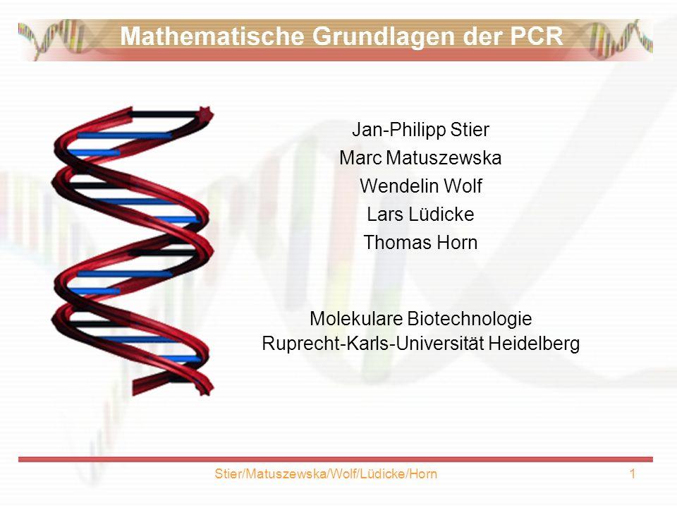 Molekulare Biotechnologie Ruprecht-Karls-Universität Heidelberg