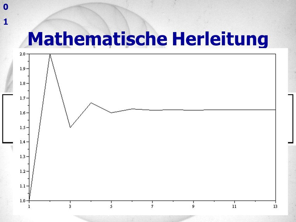 Mathematische Herleitung