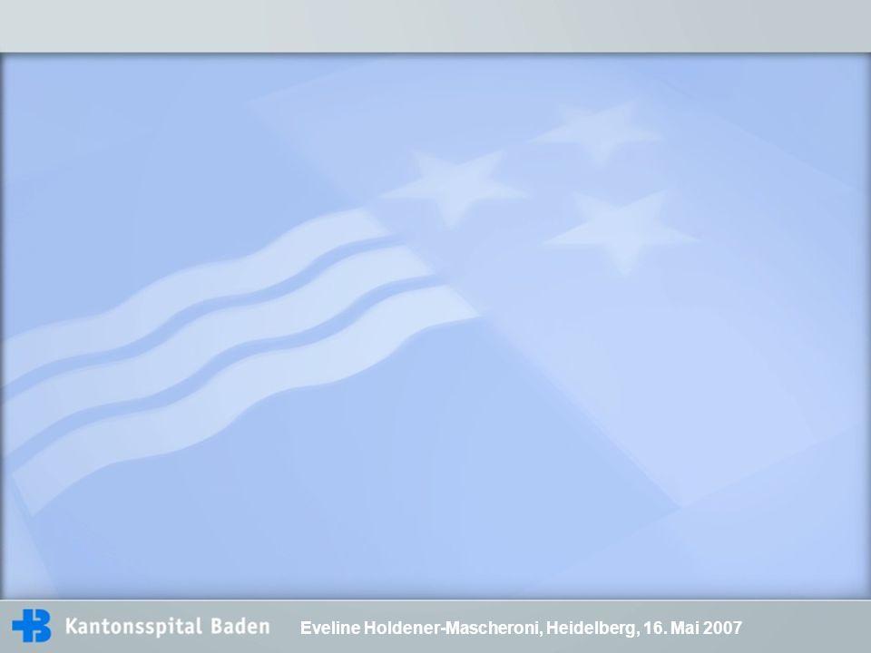 Eveline Holdener-Mascheroni, Heidelberg, 16. Mai 2007