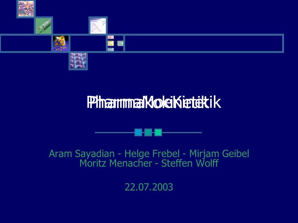 PharmaMoeKinetik Pharmakokinetik