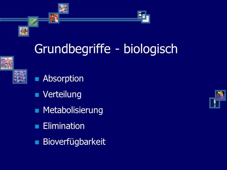 Grundbegriffe - biologisch