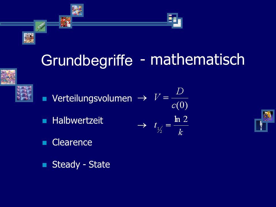 Grundbegriffe - mathematisch