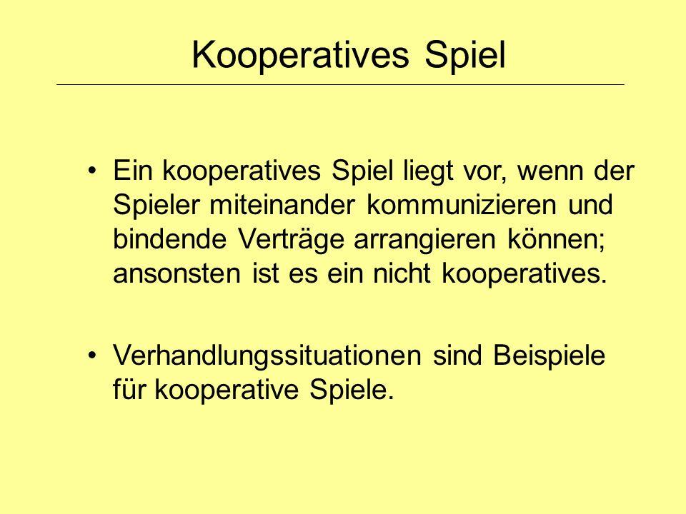 Kooperatives Spiel