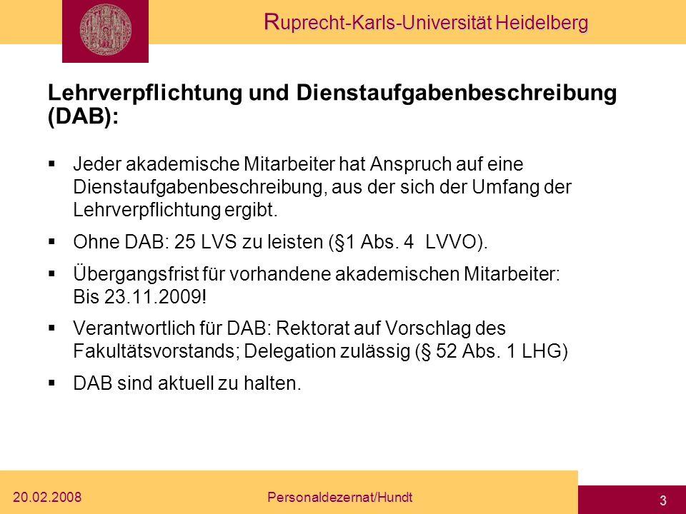 Lehrverpflichtung und Dienstaufgabenbeschreibung (DAB):