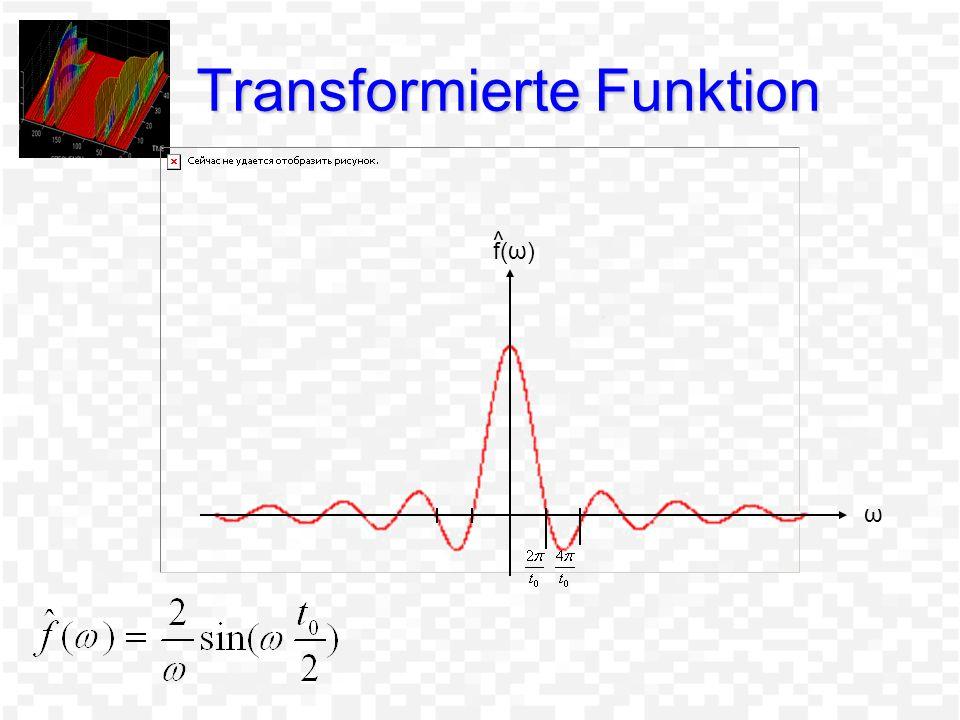 Transformierte Funktion