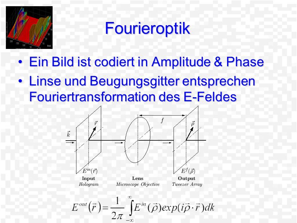 Fourieroptik Ein Bild ist codiert in Amplitude & Phase