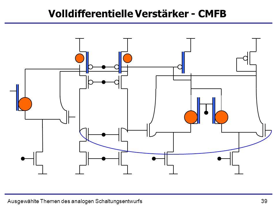 Volldifferentielle Verstärker - CMFB