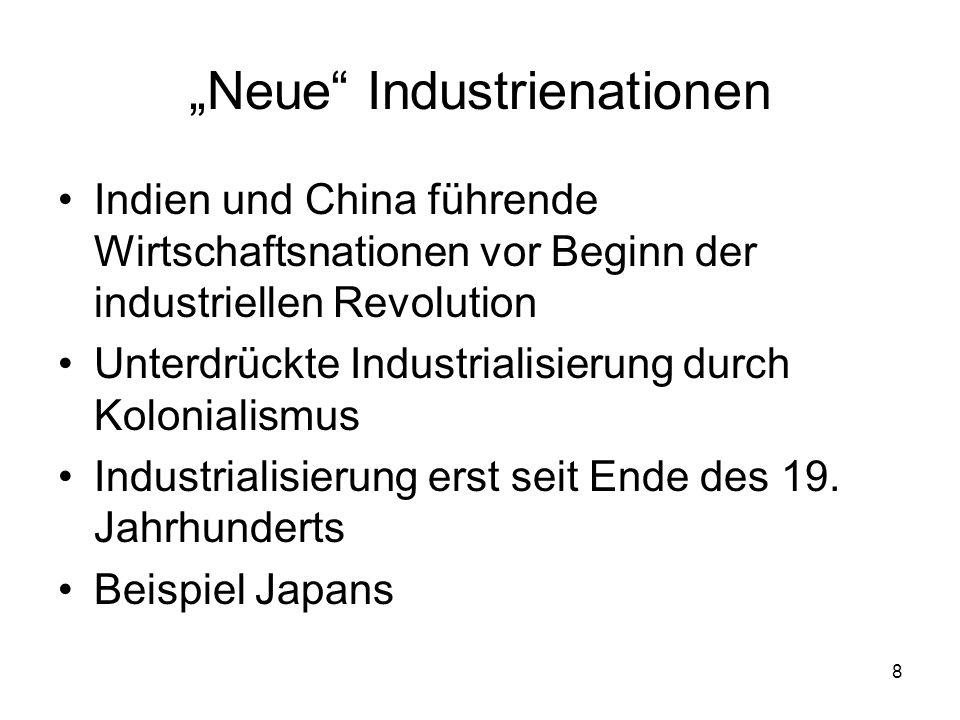"""""""Neue Industrienationen"""