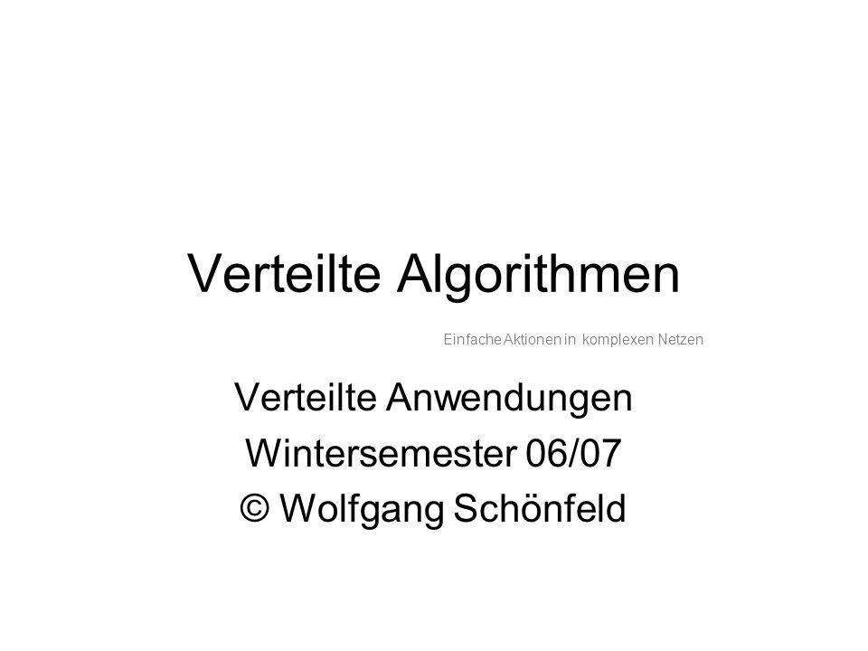 Verteilte Algorithmen