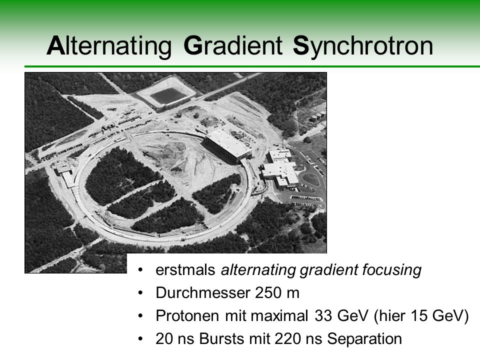 Alternating Gradient Synchrotron