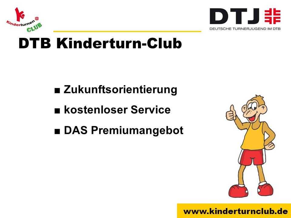 DTB Kinderturn-Club ■ Zukunftsorientierung ■ kostenloser Service