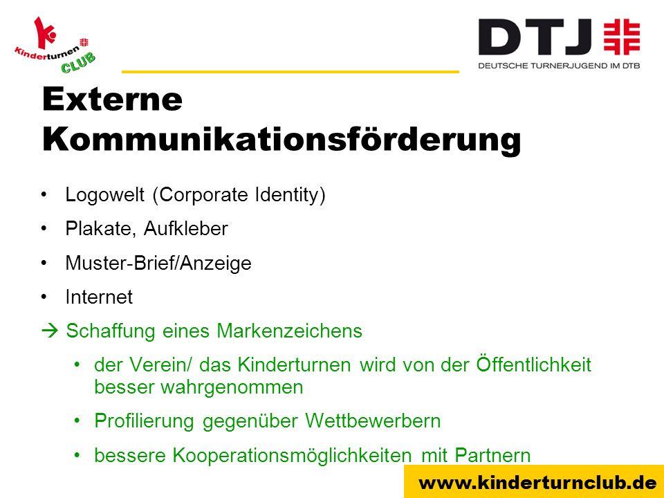Externe Kommunikationsförderung