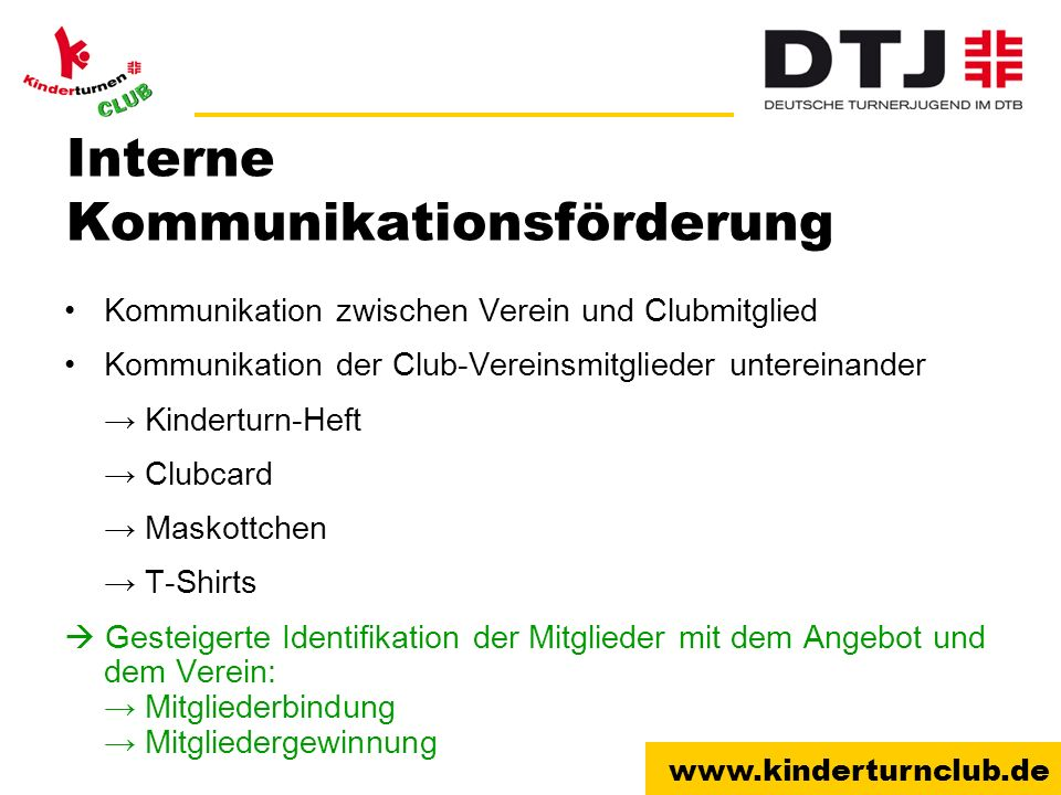 Interne Kommunikationsförderung