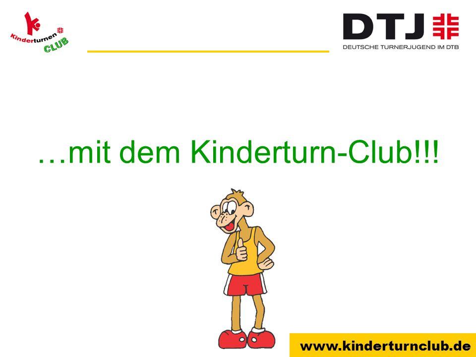 …mit dem Kinderturn-Club!!!
