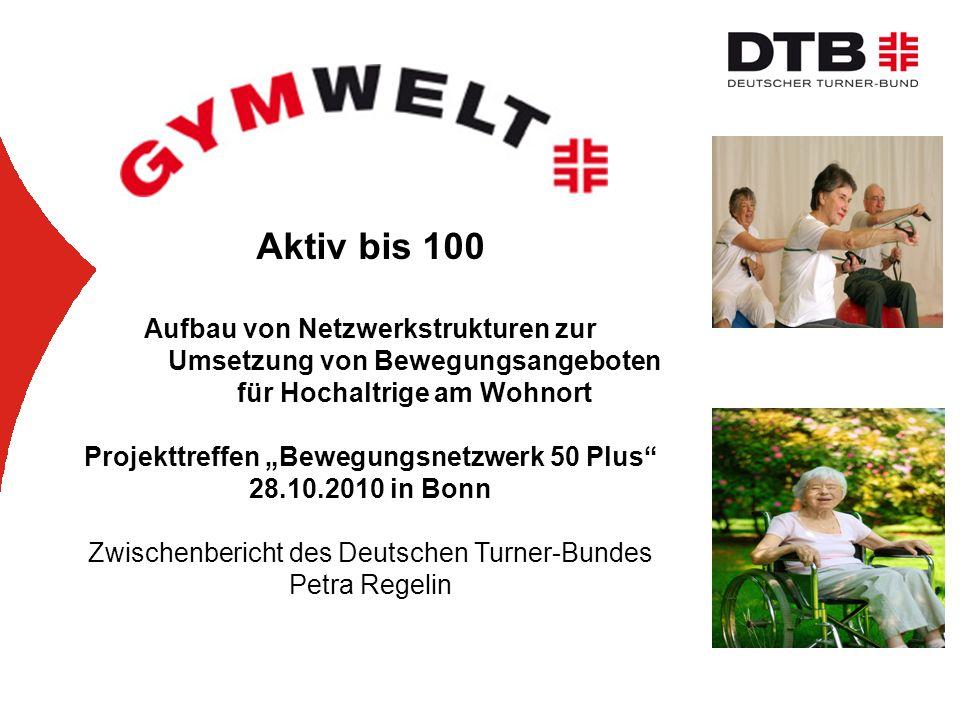 """Projekttreffen """"Bewegungsnetzwerk 50 Plus"""