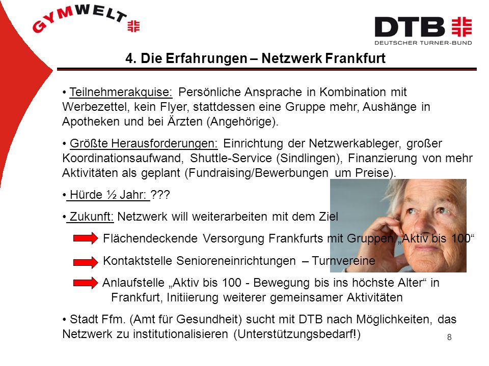 4. Die Erfahrungen – Netzwerk Frankfurt